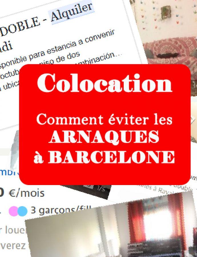 Prendre une colocation et éviter les arnaques à Barcelone