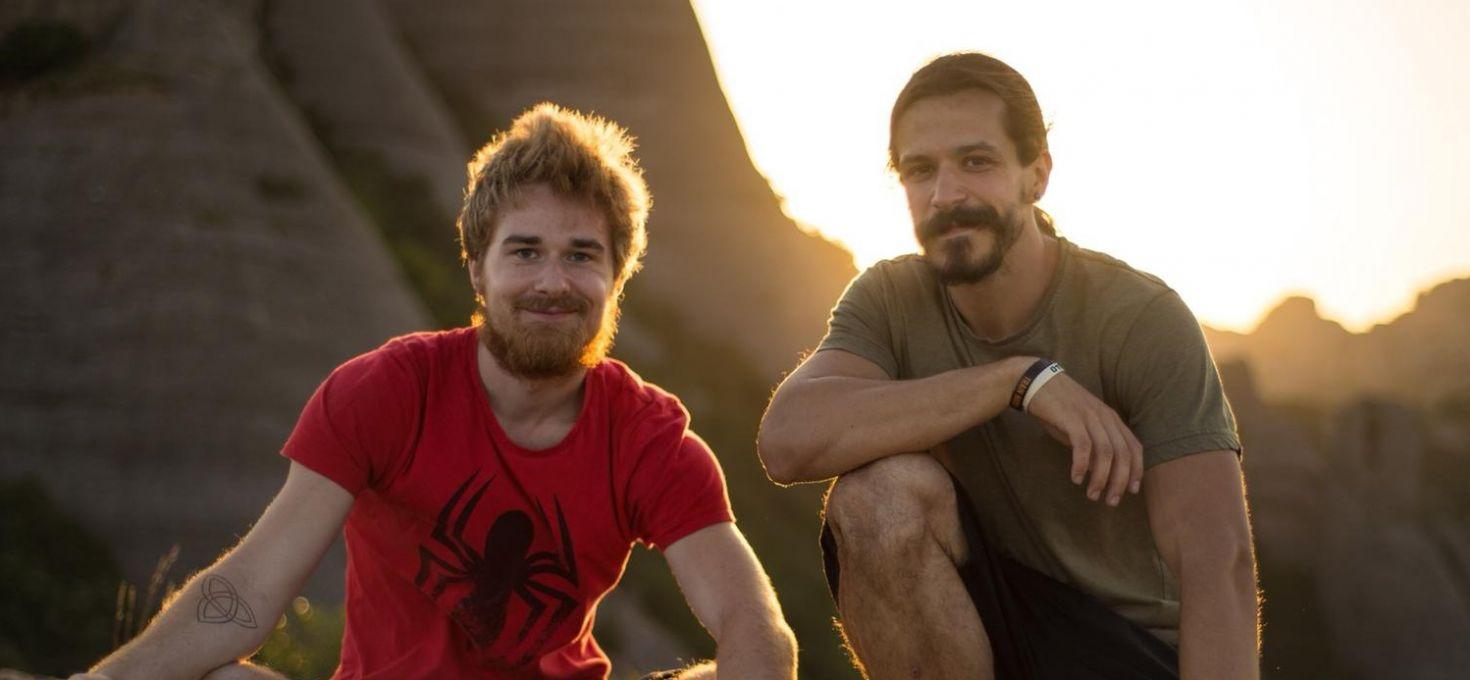 Portrait de Romain et Dani