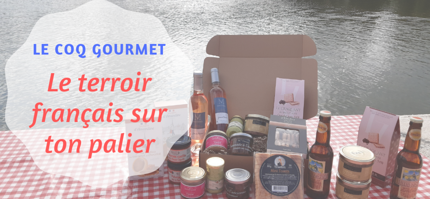 Le Coq Gourmet : le terroir français sur ton palier