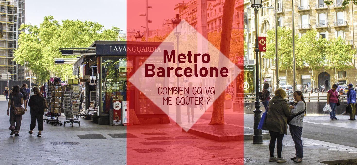 Prix du métro à Barcelone