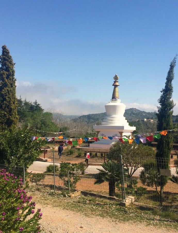Petit tour au Tibet, en pays Catalan