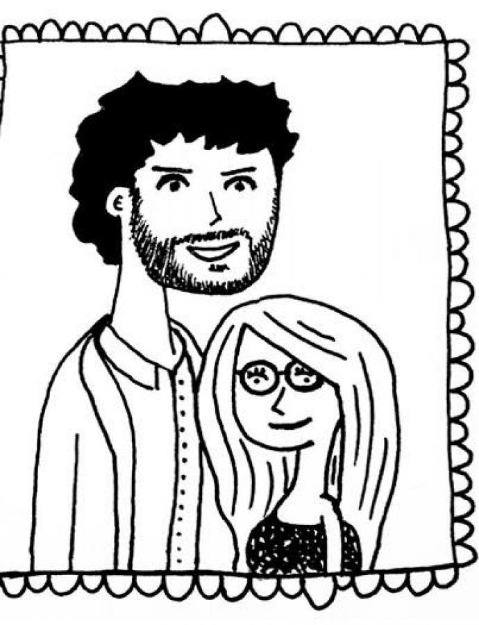 Portrait de Cléa et Manu