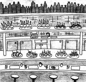 Tavernes à pinchos - Barcelone - Carrer de Blai