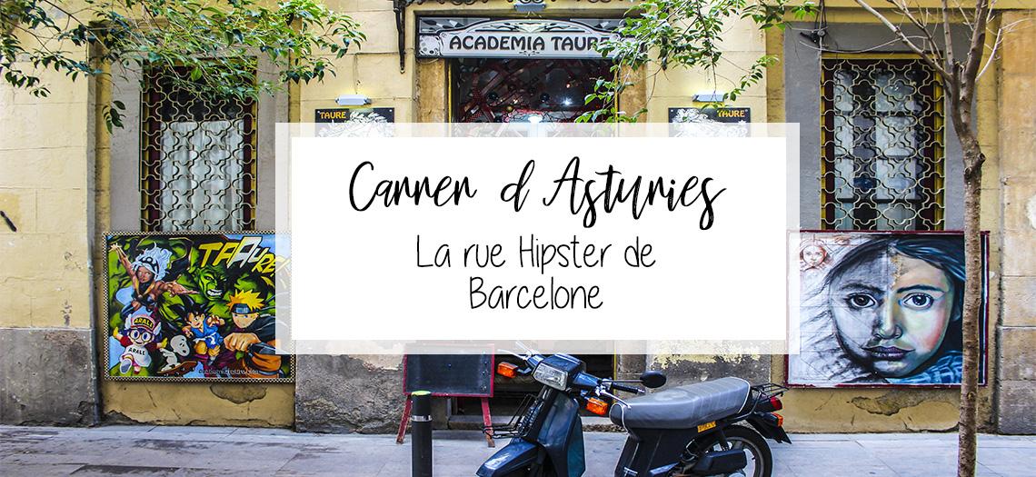 Rue d'asturies en français
