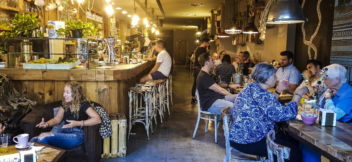 Claroquesi Barcelone café